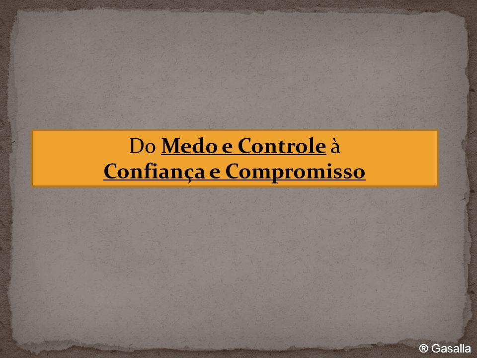® Gasalla Do Medo e Controle à Confiança e Compromisso
