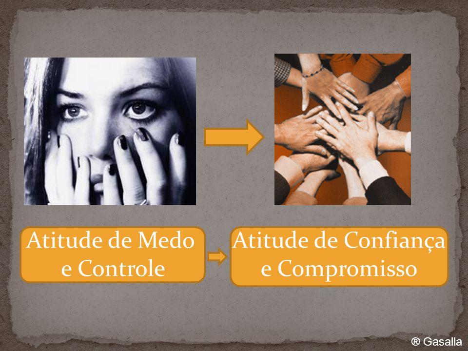 Atitude de Medo e Controle Atitude de Confiança e Compromisso ® Gasalla