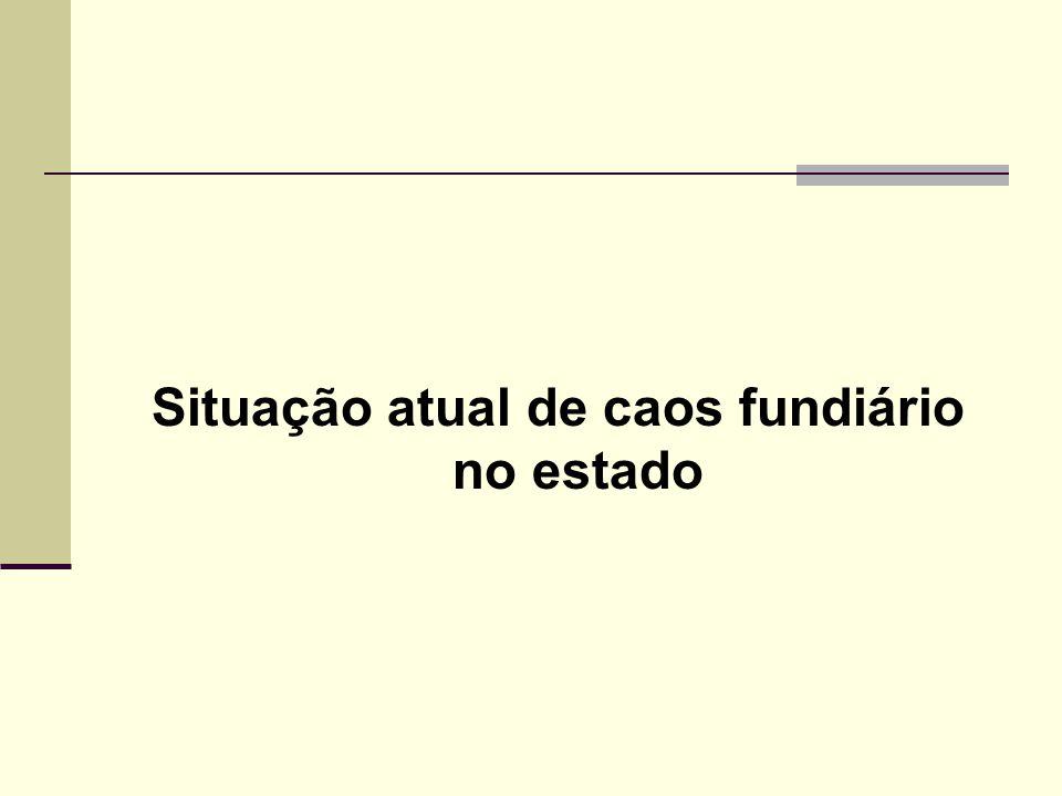 EXPANSÃO DA FRONTEIRA DE OCUPAÇÃO Fonte: SECTAM – ZEE, 2005 Nas últimas três décadas milhões de hectares de terras foram incorporados ao processo produtivo de maneira absolutamente desordenada.