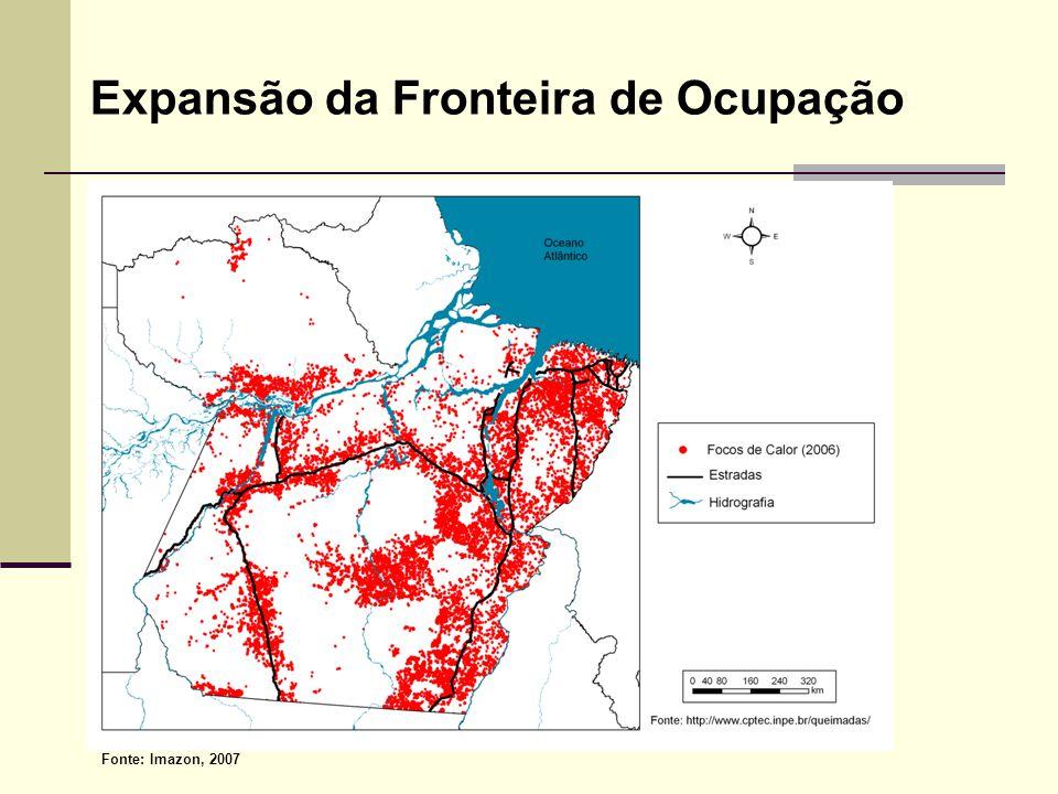 A Disputa de Diferentes Atores pelos Recursos Naturais Madeireiros Competindo pelo mesmo Espaço e recursos naturais Sojeiros Agricultura familiar Pecuaristas Unidade de Conservação