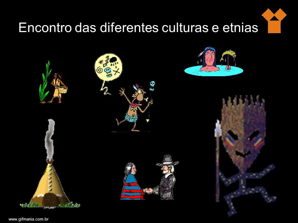 Encontro das diferentes culturas e etnias www.gifmania.com.br