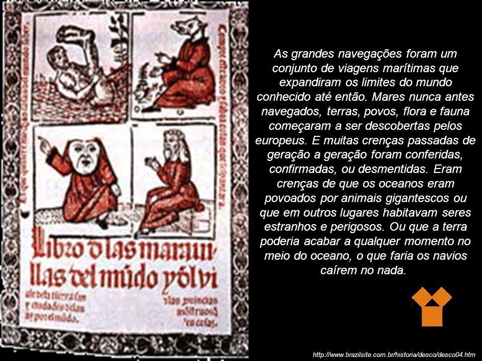 Contato com nova flora e fauna http://www.brazilsite.com.br/historia/desco/desco04.htm