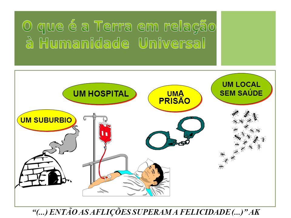 """UM SUBURBIO UM HOSPITAL UM A PRISÃO UM A PRISÃO UM LOCAL SEM SAÚDE """"(...) ENTÃO AS AFLIÇÕES SUPERAM A FELICIDADE (...)"""" AK"""