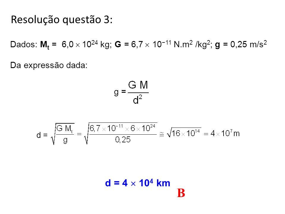 3. (Unicamp 2011) Em 1665, Isaac Newton enunciou a Lei da Gravitação Universal, e dela pode-se obter a aceleração gravitacional a uma distância d de u