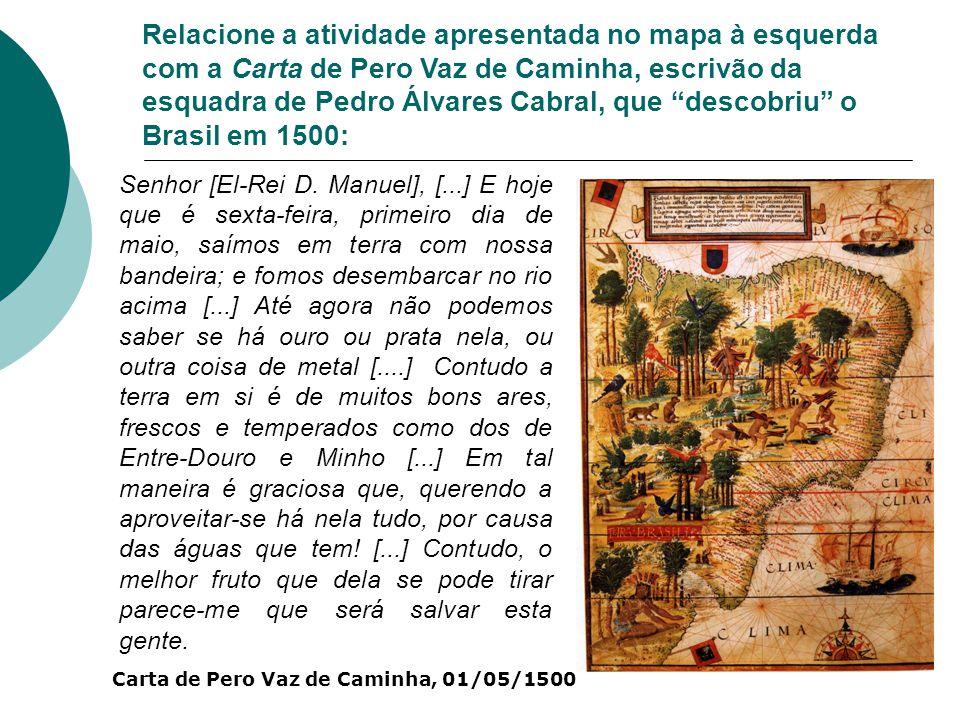 Observe a imagem: Cenas da expedição do Coronel Afonso Botelho de Sampaio Souza 1768-1773.