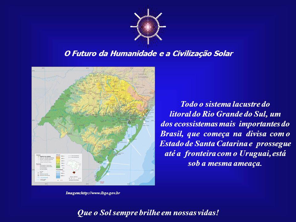 ☼ O Futuro da Humanidade e a Civilização Solar Que o Sol sempre brilhe em nossas vidas! Portanto, por efeito do aque- cimento global, uma das maiores