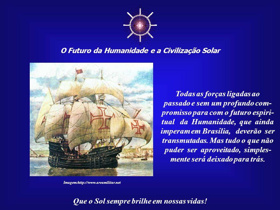 """☼ O Futuro da Humanidade e a Civilização Solar Que o Sol sempre brilhe em nossas vidas! No caminho para a Civilização Solar, já temos uma """"Capital do"""