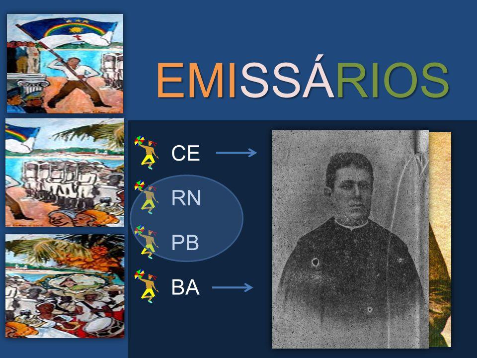 EMISSÁRIOS CE RN PB BA