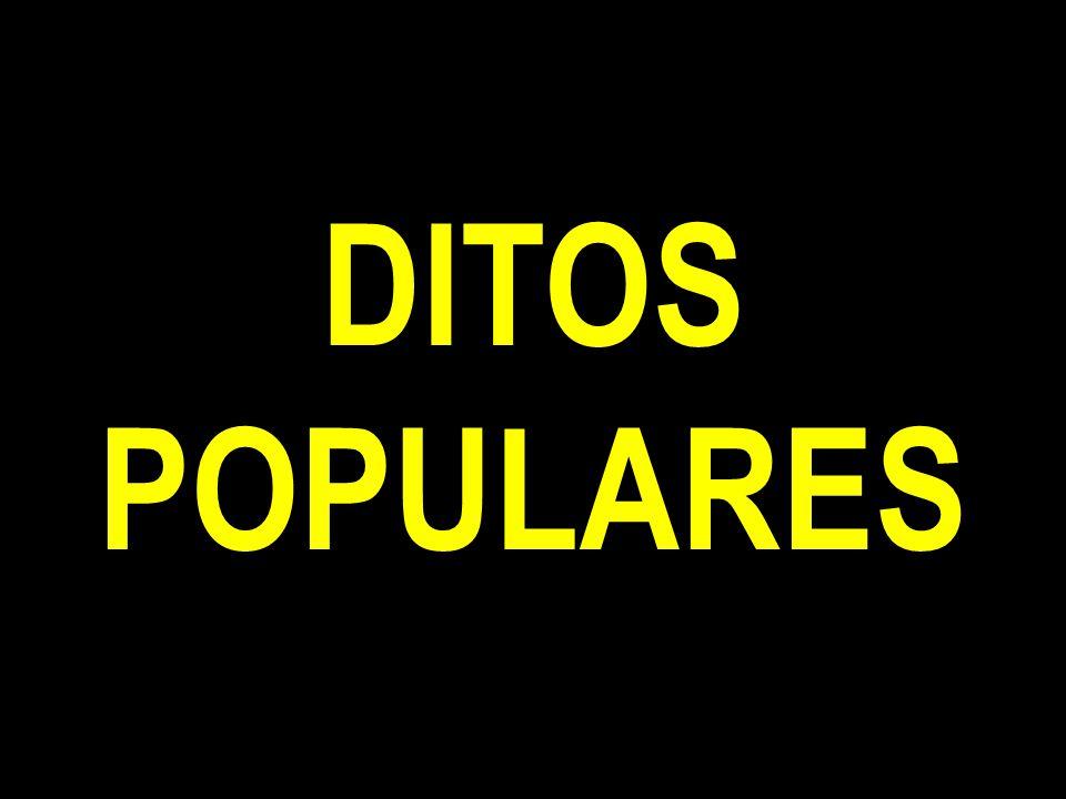 DITOS POPULARES