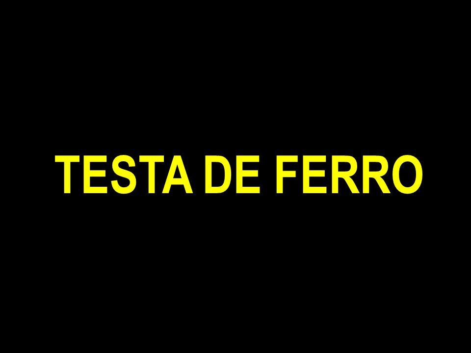 TESTA DE FERRO
