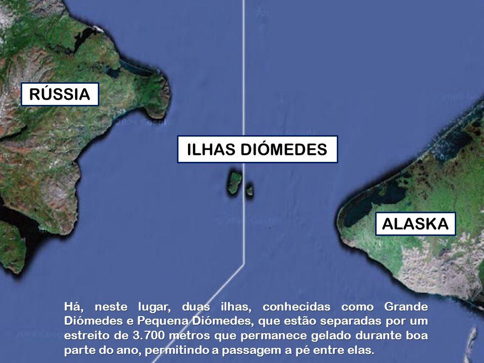 Foi este lugar que, provavelmente, serviu de ligação aos primeiros povoadores do continente americano.
