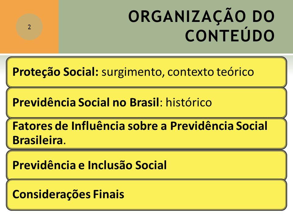ORGANIZAÇÃO DO CONTEÚDO 2