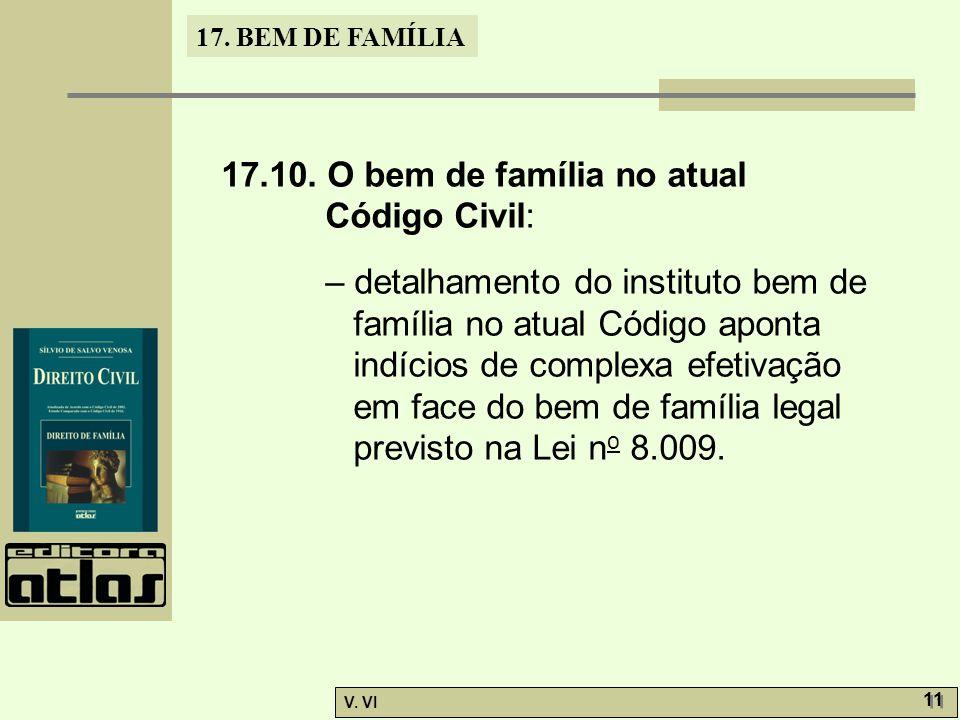 17.BEM DE FAMÍLIA V. VI 11 17.10.