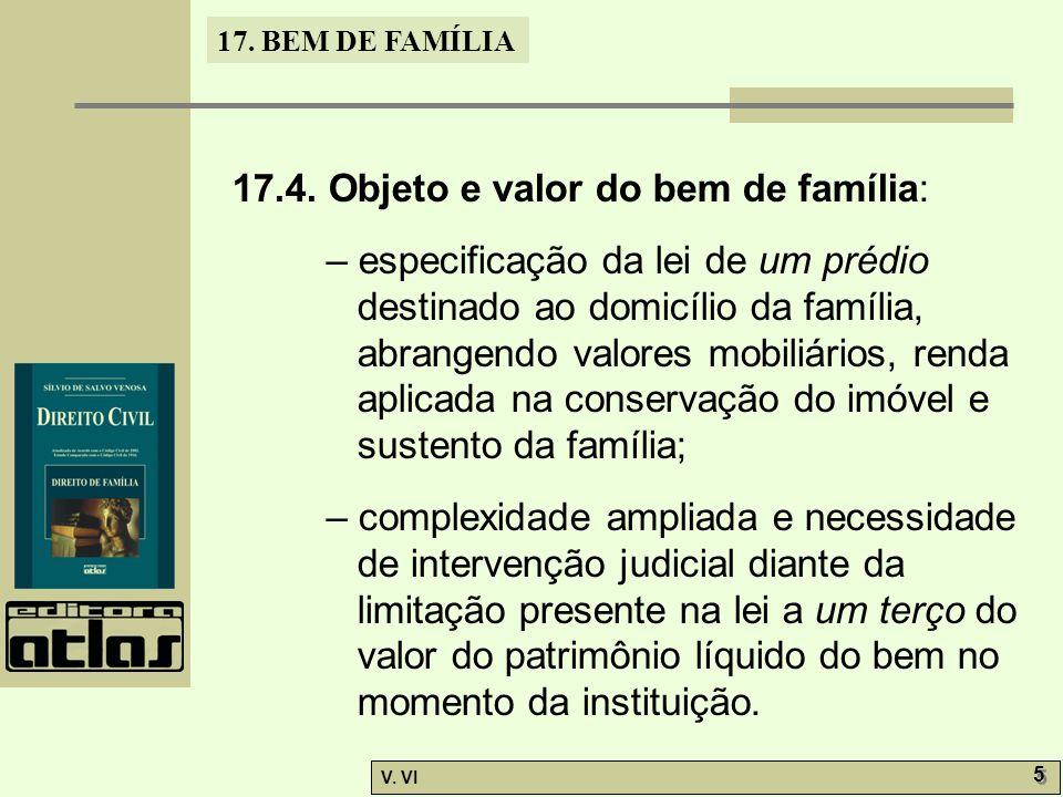 17.BEM DE FAMÍLIA V. VI 5 5 17.4.