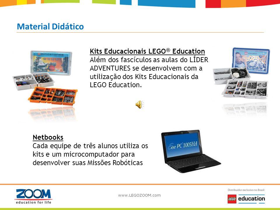 www.LEGOZOOM.com Missão Robótica Material Didático