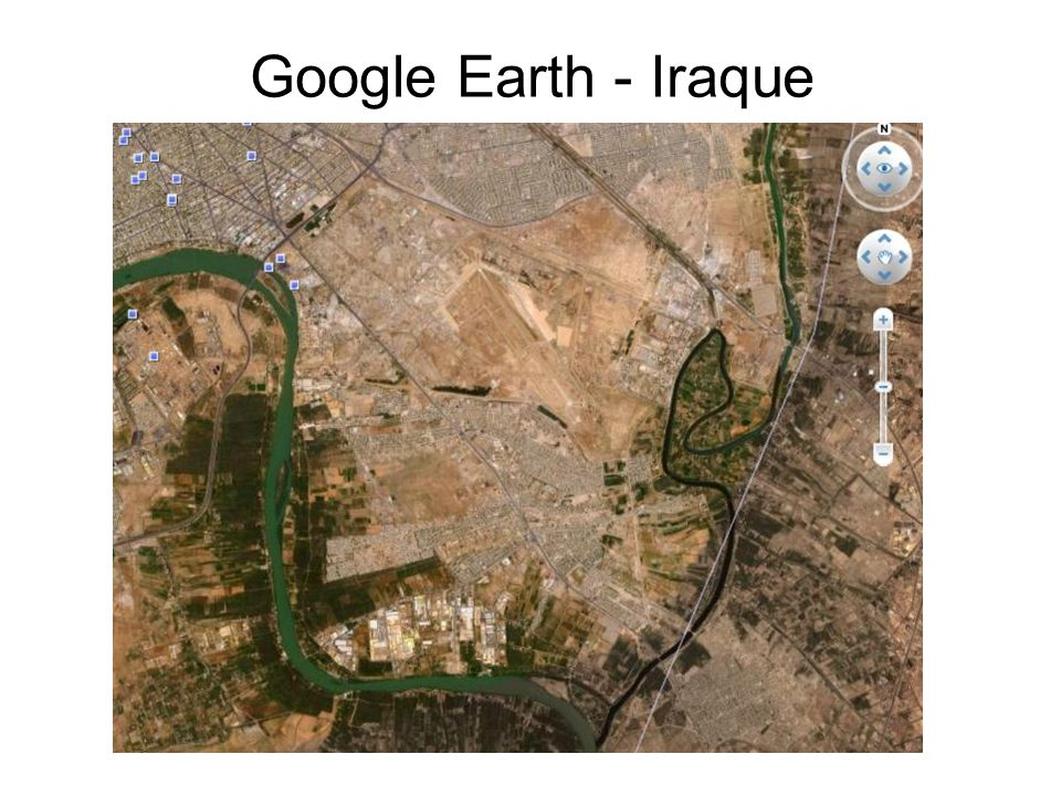Google Earth - Iraque