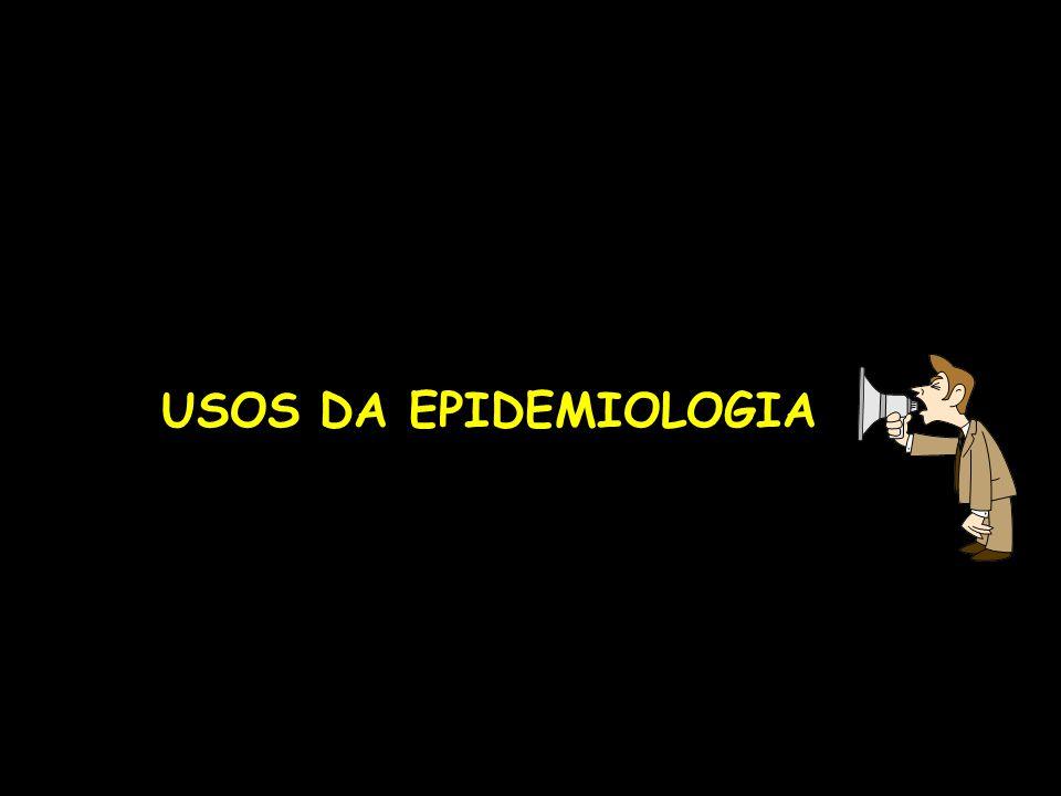 USOS DA EPIDEMIOLOGIA