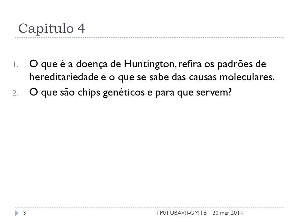 Capítulo 4 1.