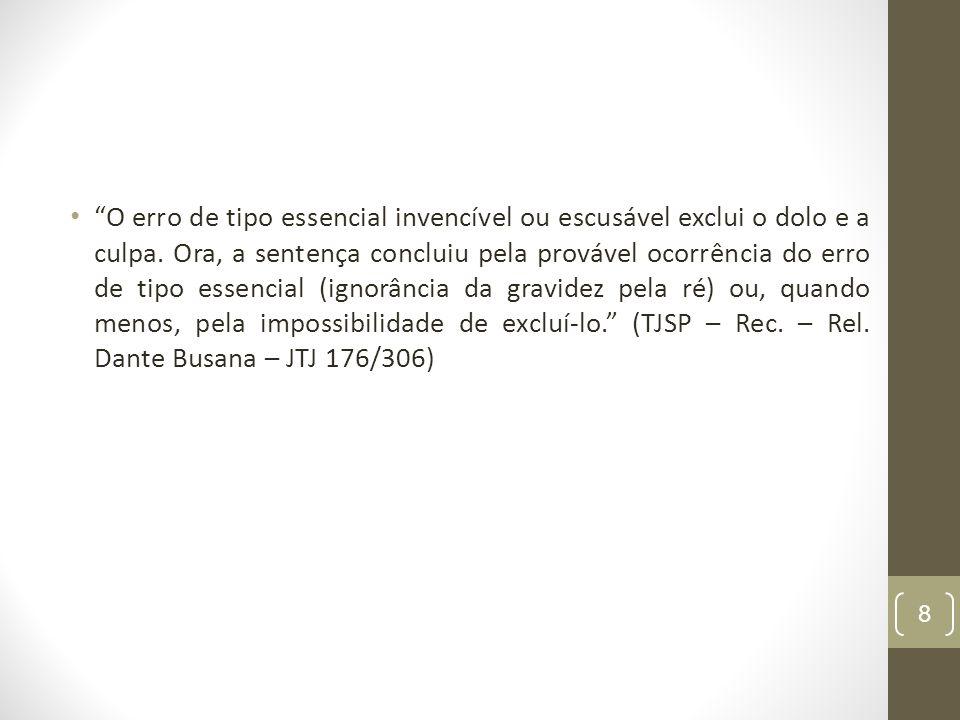 DESCRIMINANTES PUTATIVAS Art. 20, § 1º 9