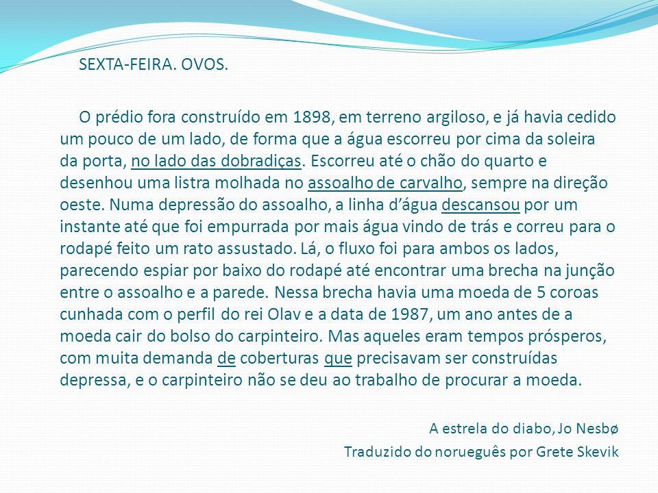 SEXTA-FEIRA.OVOS.
