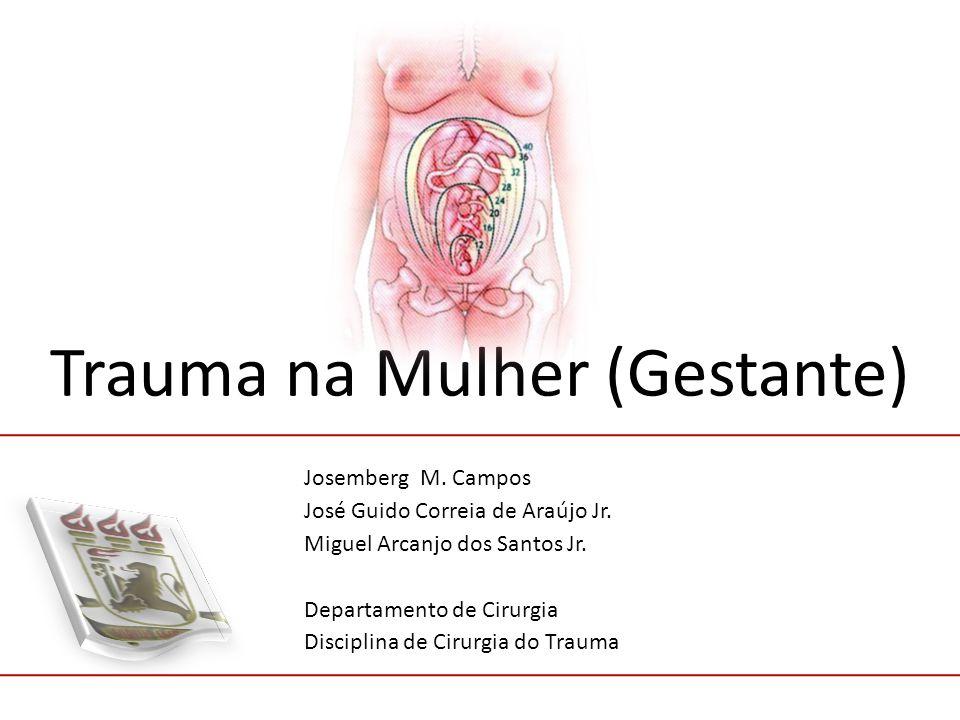 Trauma na Mulher (Gestante) Josemberg M.Campos José Guido Correia de Araújo Jr.