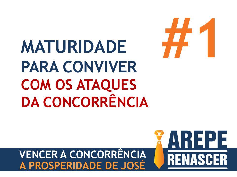 A PROSPERIDADE DE JOSÉ MATURIDADE PARA CONVIVER COM OS ATAQUES DA CONCORRÊNCIA #1 VENCER A CONCORRÊNCIA