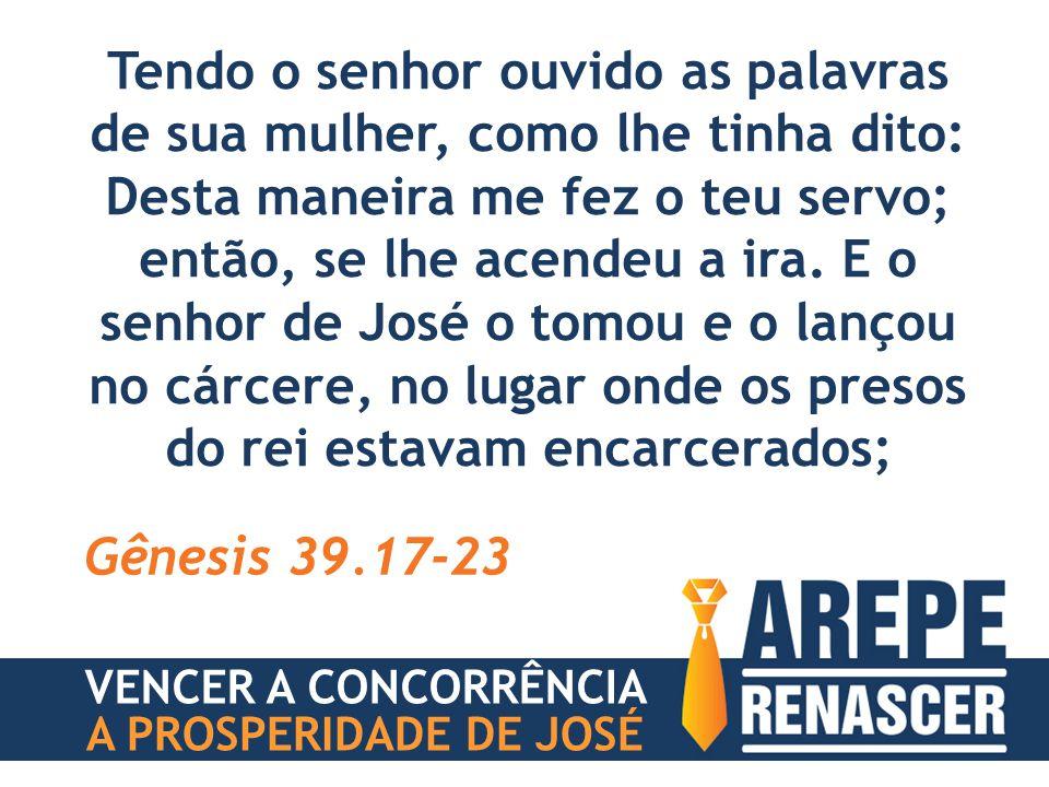A PROSPERIDADE DE JOSÉ VOCÊ SERÁ SOBERANO NAS SITUAÇÕES #2 VENCER A CONCORRÊNCIA
