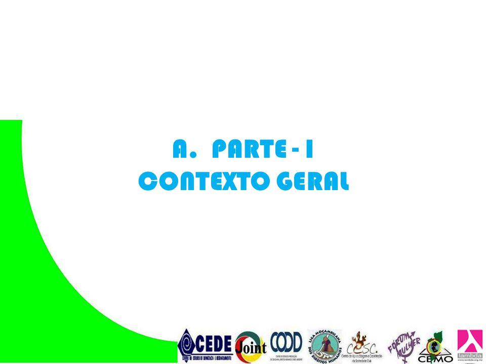 A.PARTE - I CONTEXTO GERAL