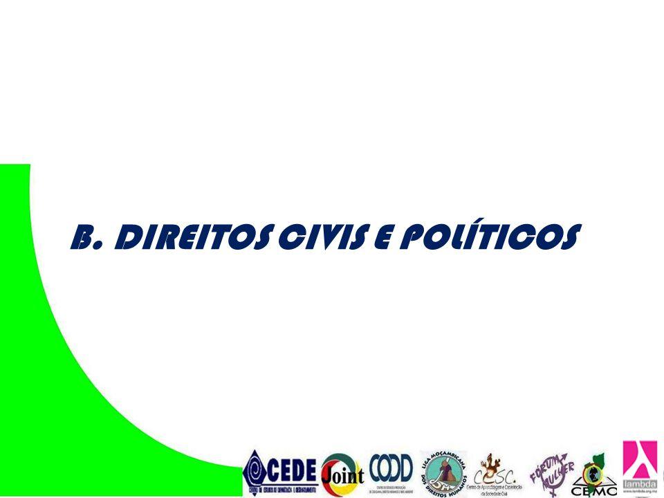 D. DIREITOS DOS POVOS