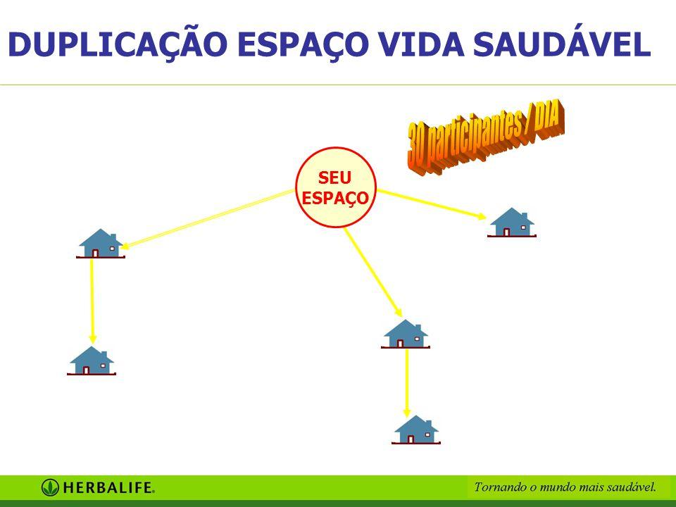 SEU ESPAÇO DUPLICAÇÃO ESPAÇO VIDA SAUDÁVEL