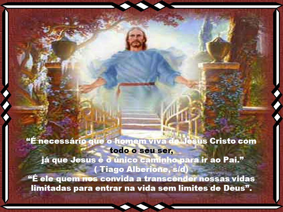 """Caríssimos, como é maravilhoso falarmos de Jesus de Nazaré. """"Jesus é a aliança dos mundos: o mundo que nos é desconhecido, do Senhor do céu e da terra"""