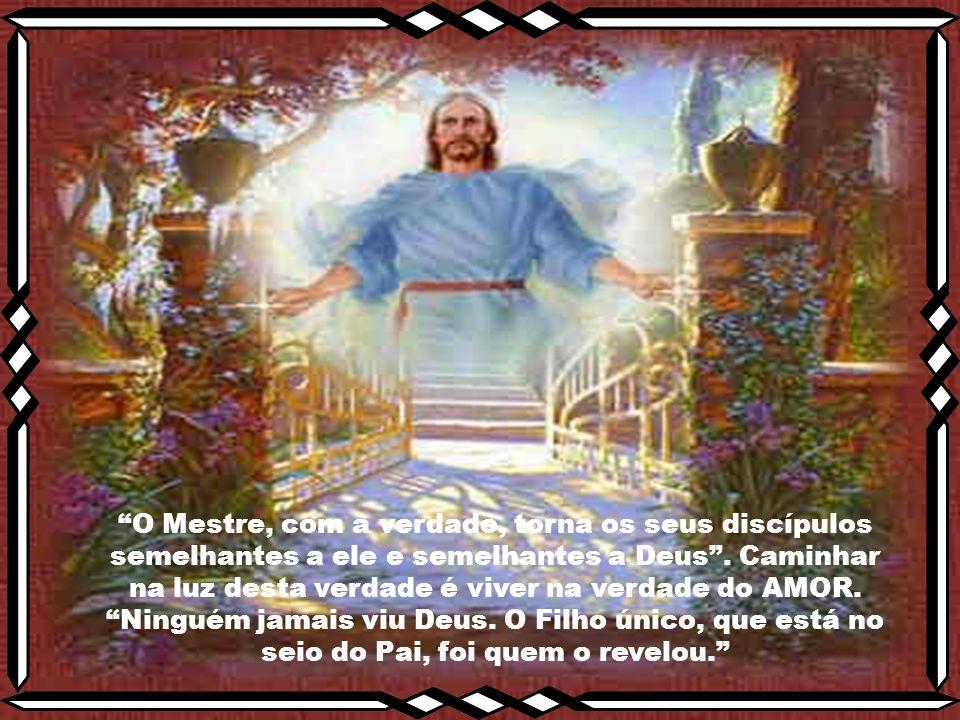 """""""É Jesus a """"revelação"""" autêntica, ou a evidência, da existência e identidade de Deus, o Pai."""" """"Aquele que me viu, viu também o Pai"""" (Jo 14,9) A Verdad"""