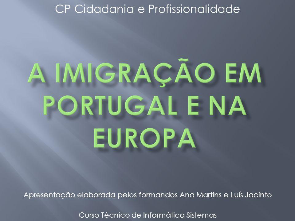 CP Cidadania e Profissionalidade Curso Técnico de Informática Sistemas Apresentação elaborada pelos formandos Ana Martins e Luís Jacinto