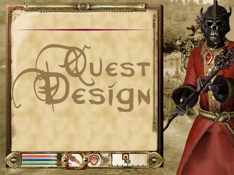 Definições Quest é uma jornada através de um lugar fantástico simbólico, no qual um protagonista ou jogador coleta objetos e conversa com personagens, com a finalidade de superar desafios e alcançar objetivos significativos.