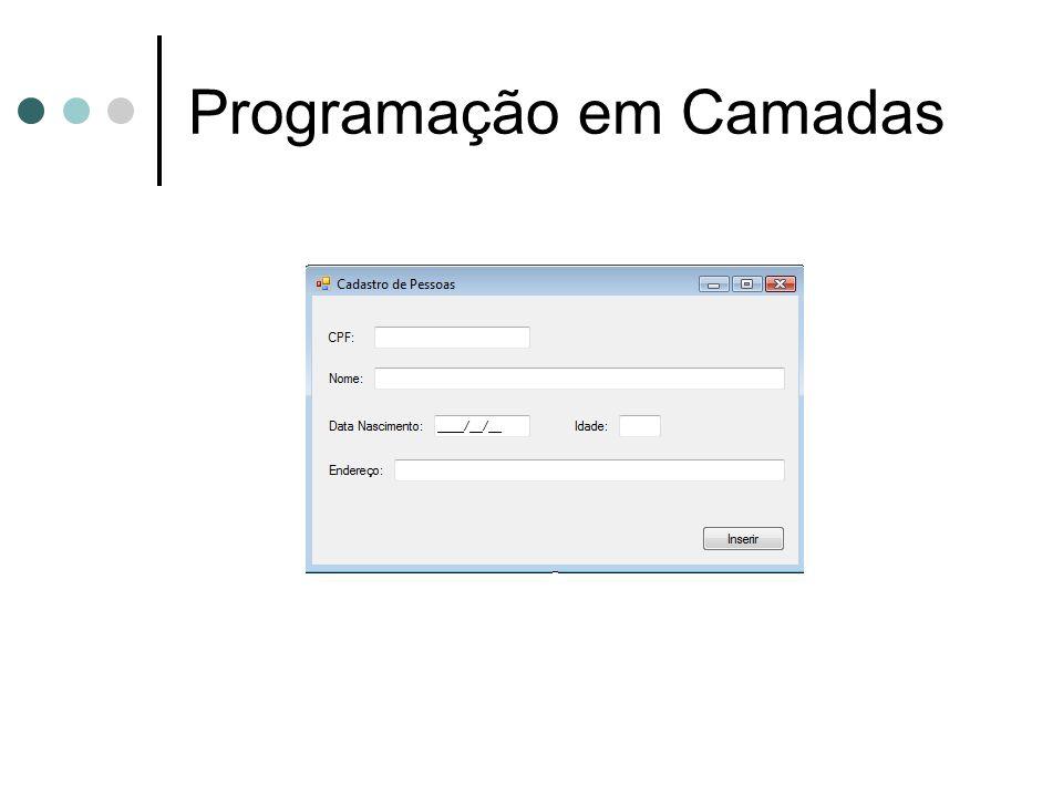 Programação em Camadas