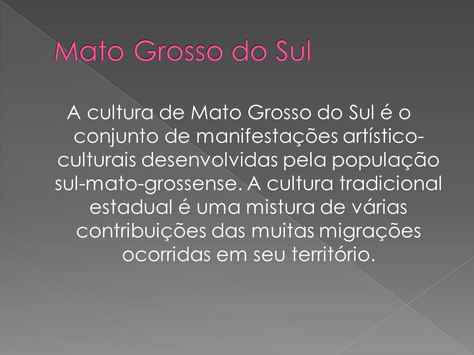 A cultura de Mato Grosso do Sul é o conjunto de manifestações artístico- culturais desenvolvidas pela população sul-mato-grossense. A cultura tradicio