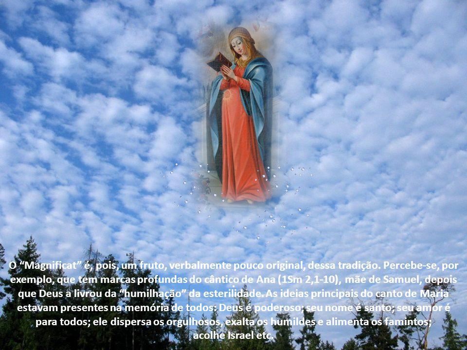 Se o evangelista obteve suas informações diretamente de Maria ou de alguma tradição oral ou escrita, não há meios de precisar. Maria pertencia a um po