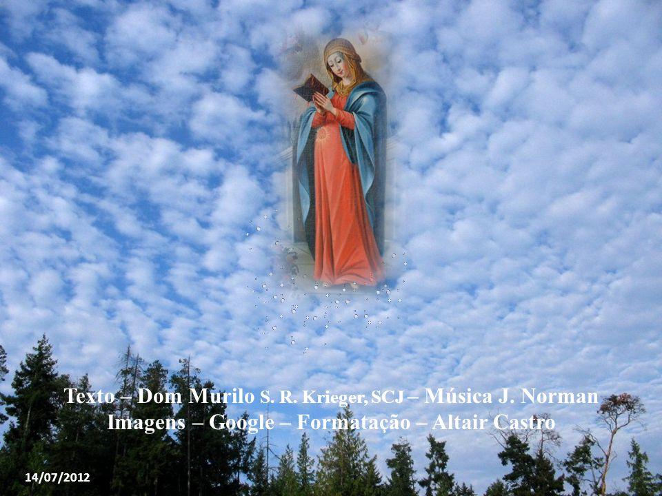 """Por esses e muitos outros motivos, a Igreja alegra-se em rezar o """"Magnificat"""". E sabe que assim como o Senhor olhou para sua serva e nela fez maravilh"""