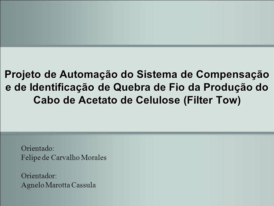 Projeto de Automação do Sistema de Compensação e de Identificação de Quebra de Fio da Produção do Cabo de Acetato de Celulose (Filter Tow) Orientado: