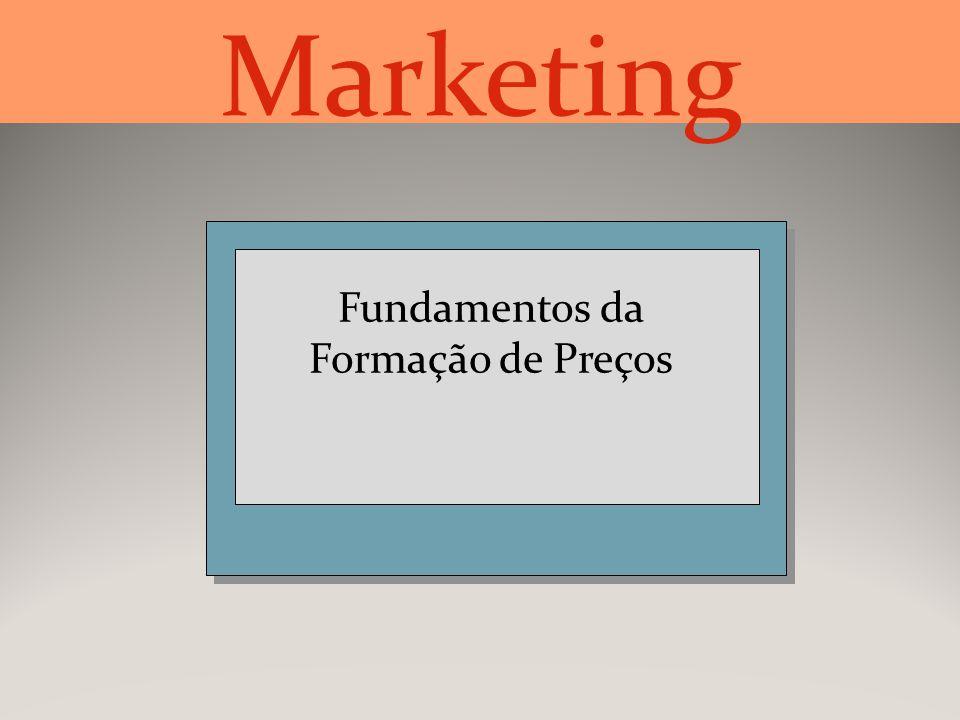 Fundamentos da Formação de Preços Marketing
