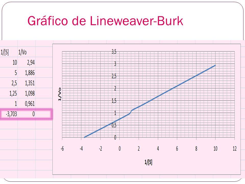 Gráfico de Lineweaver-Burk