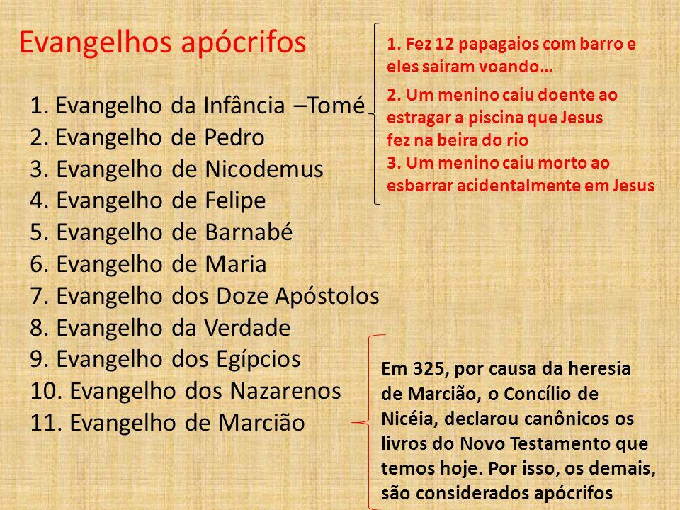 4.Fontes Bíblicas 4.1. Evangelhos Sinóticos: Mateus, Marcos e Lucas 4.2.
