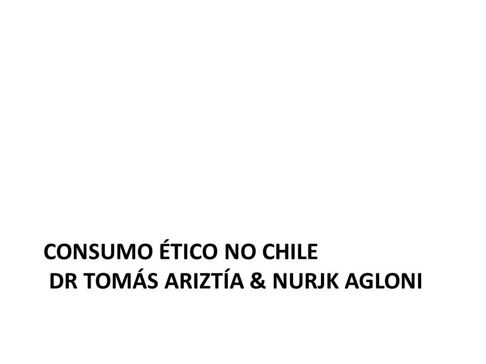 CONSUMO ÉTICO NO CHILE DR TOMÁS ARIZTÍA & NURJK AGLONI