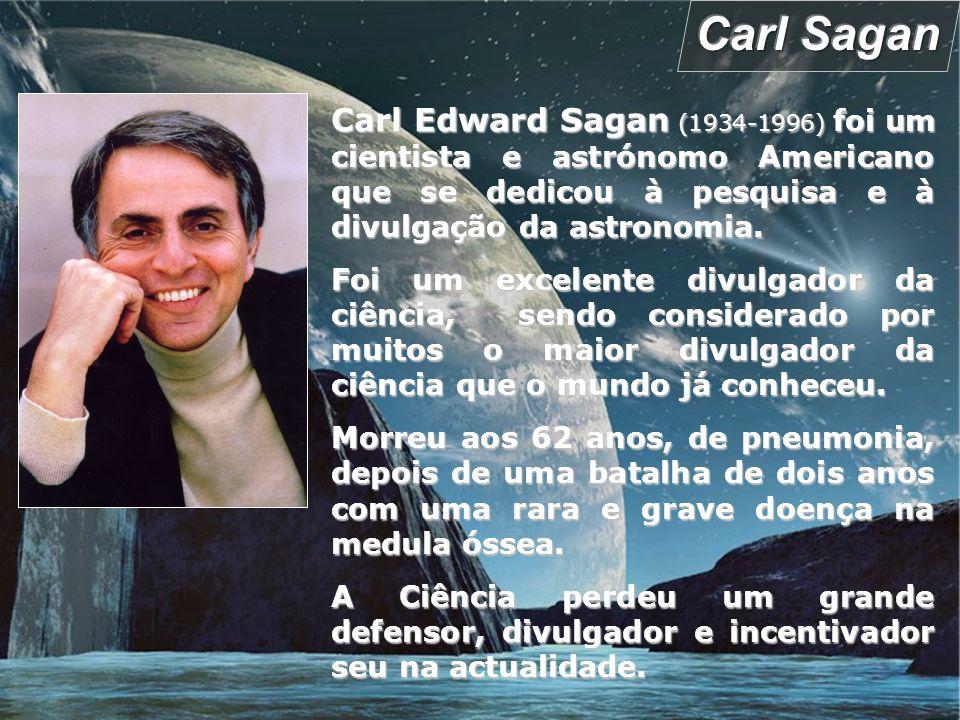 Sagan Memorial Station - Marte Carl Sagan teve um papel significativo no programa espacial americano desde o seu início.