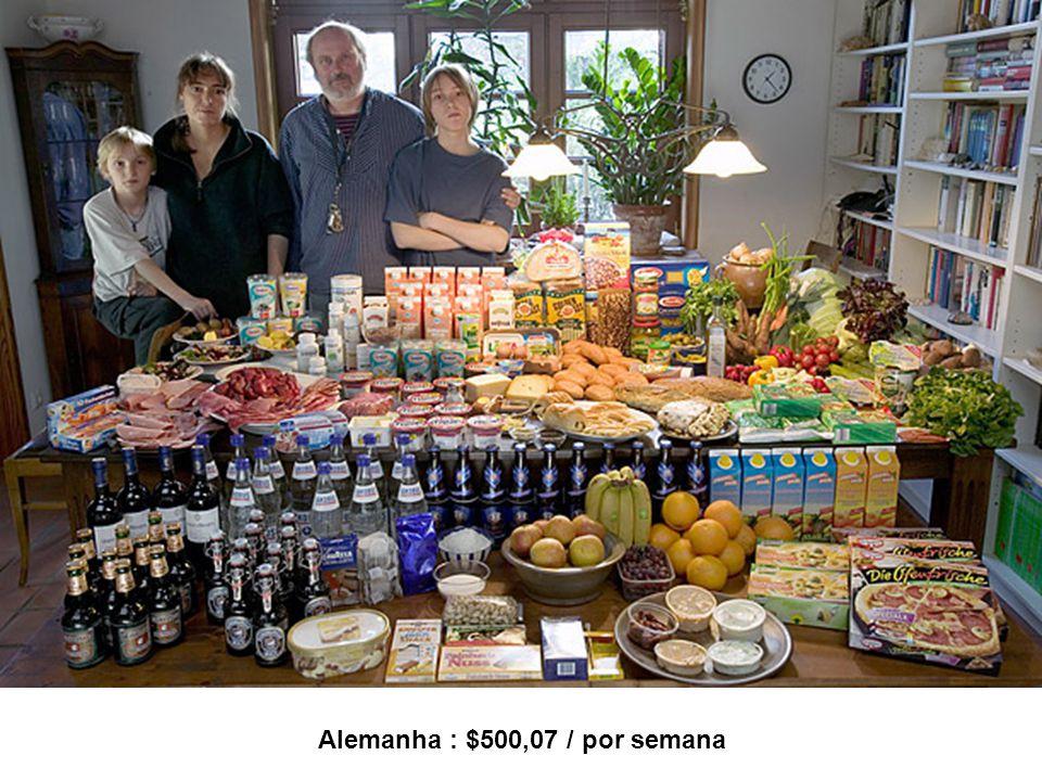 Alemanha : $500,07 / por semana