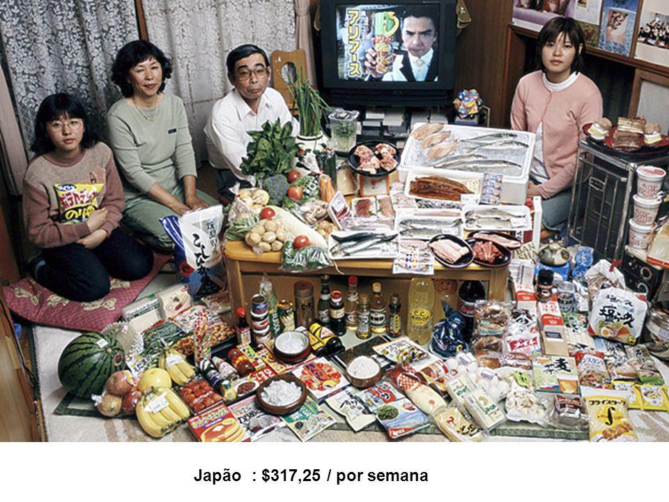Japão : $317,25 / por semana