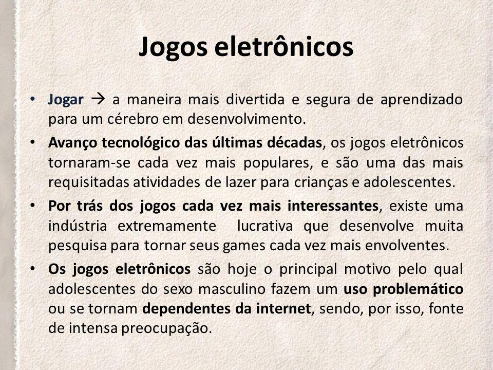 DEPENDÊNCIA DE JOGOS ELETRÔNICOS