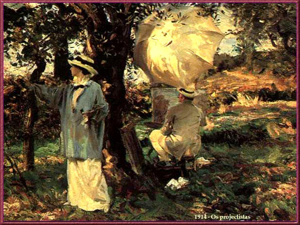 1911 - Leitura Numa época em que a tendência principal da arte era centralizada no Impressionismo e na enfatização da individualidade artística, Sarge