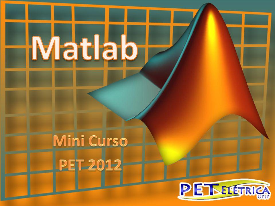 • Software matlab – características gerais • Apresentação da interface • Variáveis, funções e comandos básicos • Linguagem de programação Matlab