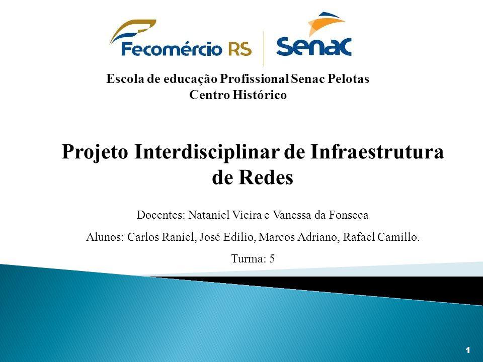 Conclui-se que este projeto foi de suma importância para o aperfeiçoamento em redes para futuros técnicos, proporcionando aprendizado na realização de implantação de redes e servidores dentro de um ambiente de trabalho.